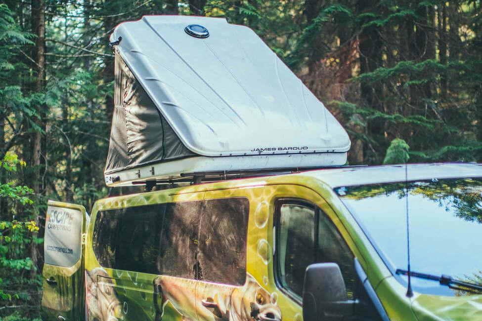 Tenda posto letto su tettuccio facoltativa