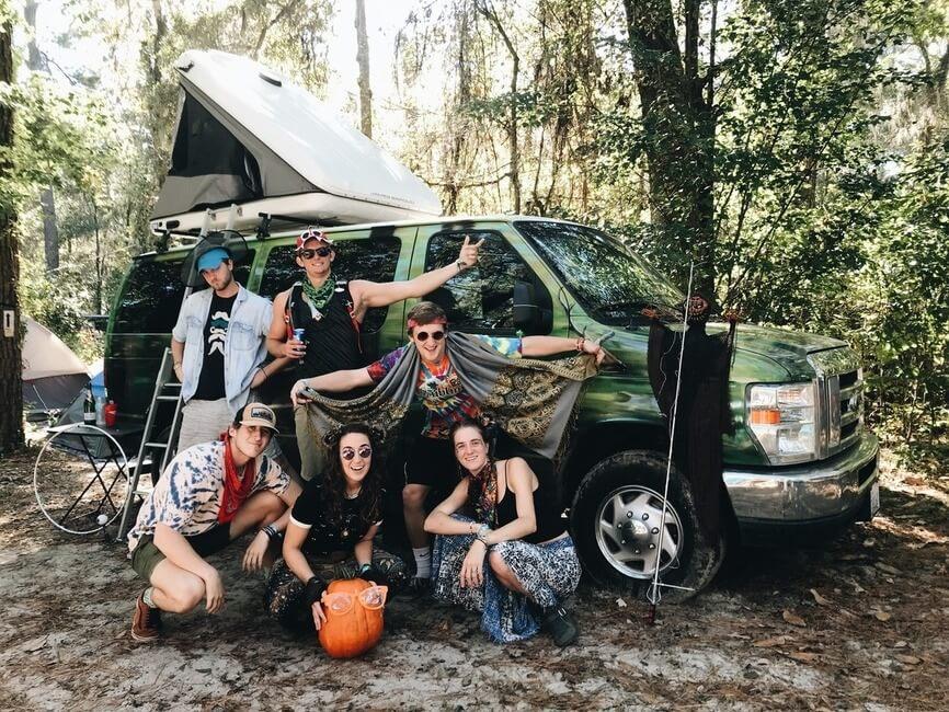 Suwannee Hulaween Camping Friends