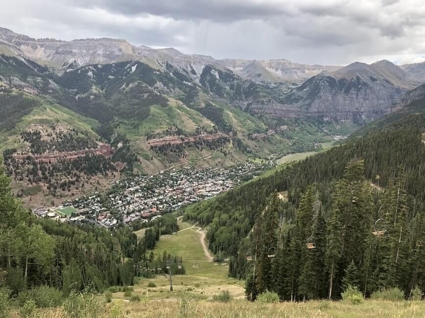 Telluride Colorado View