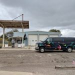 Abandoned Gas Station Marathon Texas