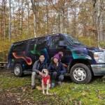Roar Gorge Washington Forest Campervan Campsite