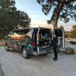 El Morro National Monument Campervan Campsite