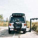 jeep camper with bike rack
