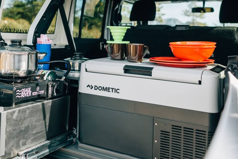 Dometic powered cooler