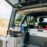 jeep camper interior kitchen