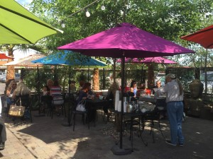 One of my favorite, okay my favorite patio in Phoenix at 32 Shea.