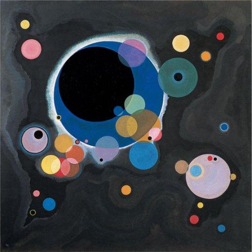 kandinsky several circles 1926