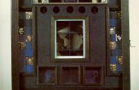 Joseph Cornell, Untitled (Penny Arcade Portrait of Lauren Bacall)  (1945-46) Construction, 20 1/2 x 16 x 3 1/2 in