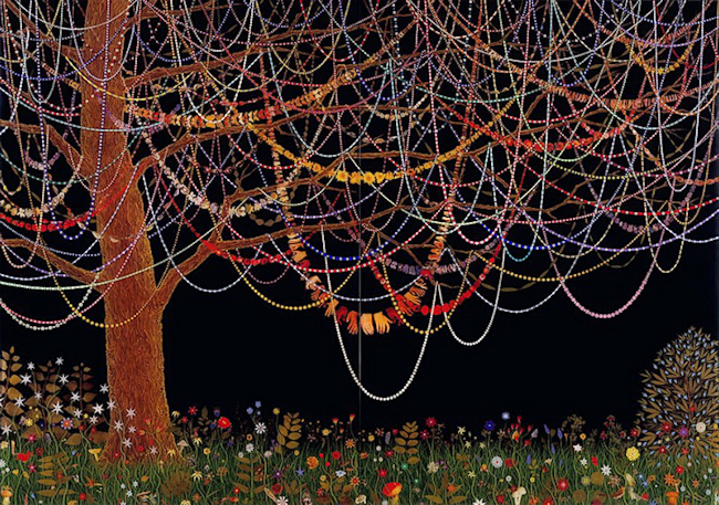 escape into life Fred Tomaselli