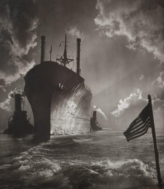 fjs-aabodine-Baltimore Harbor -1955