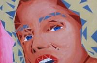 "jamie martinez triangulism painting ""mm"""