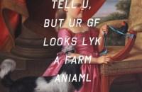Young Girl With Dog and Bird, Farm Animal