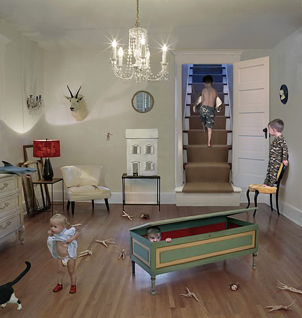 Julie Blackmon, Camouflage, 2006