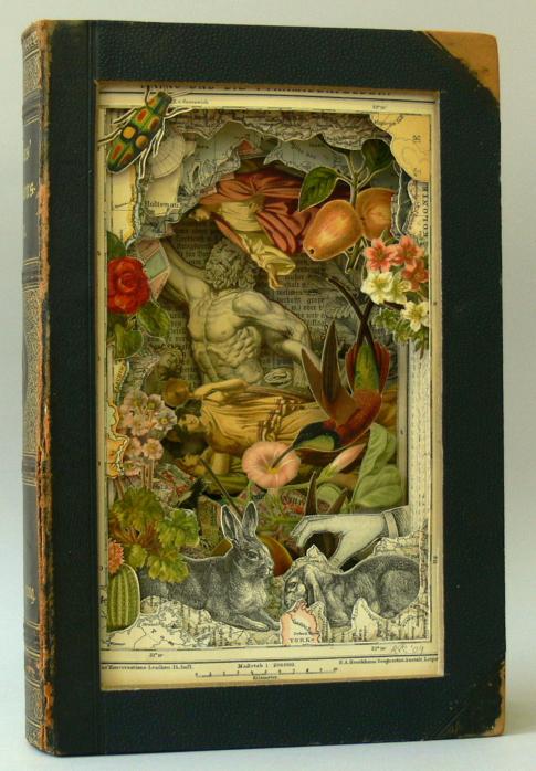Alexander Korzer-Robinson--bug, rabbit, man fleeing