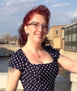 Kristin LaTour polka dot author photo