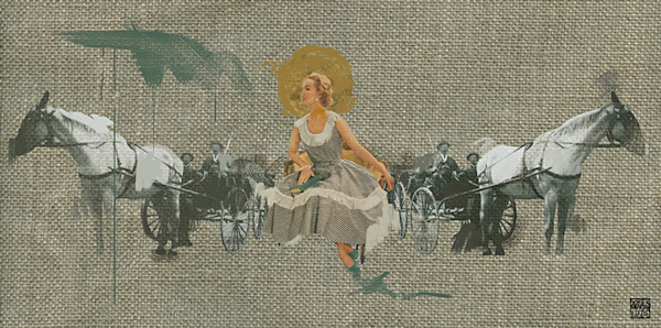 Lizzie Gill, blonde woman