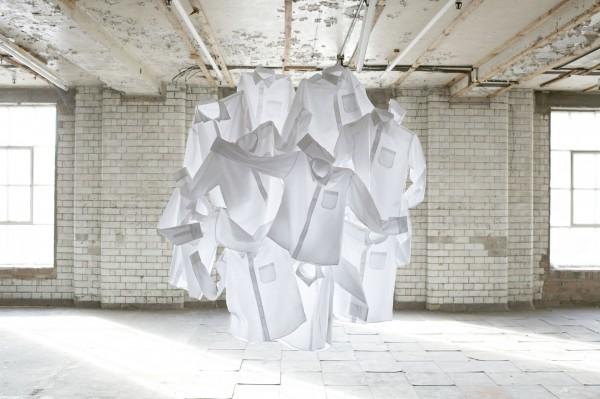 Nicola Yeoman, white shirts
