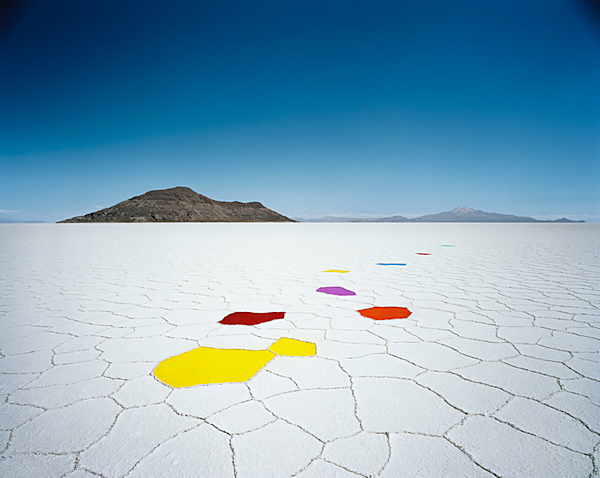 Scarlett Hooft Graafland, Happiness, salt flats