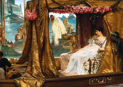 Antony and Cleopatra by Lawrence Alma-Tadema