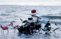 Rune Guneriussen, chairs in water
