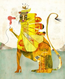 Andrea D'Aquino, Blow-Dry_Lion