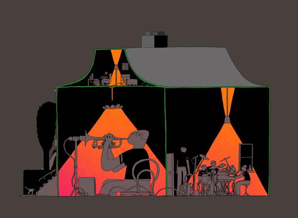 Ceyln Brazier, music house, Think-Quaterly-single-night-airbrush_1200