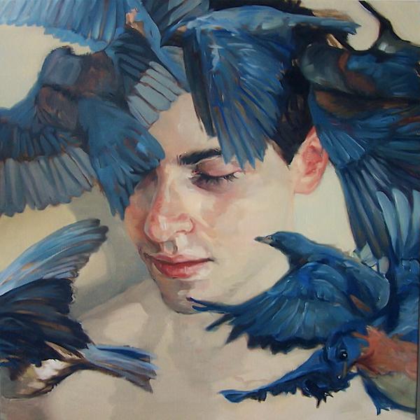 Meghan Howland, Bird, blue