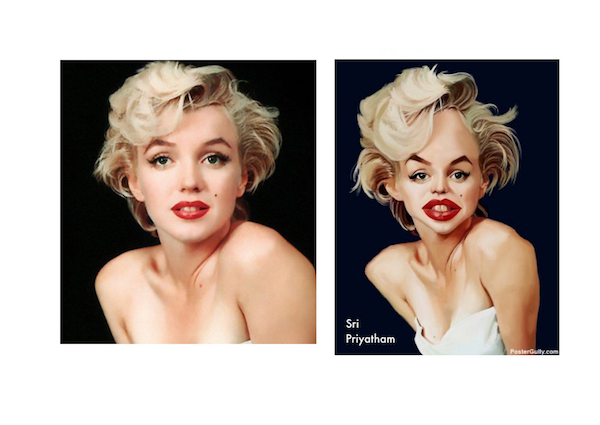 Marilyn Photoshop