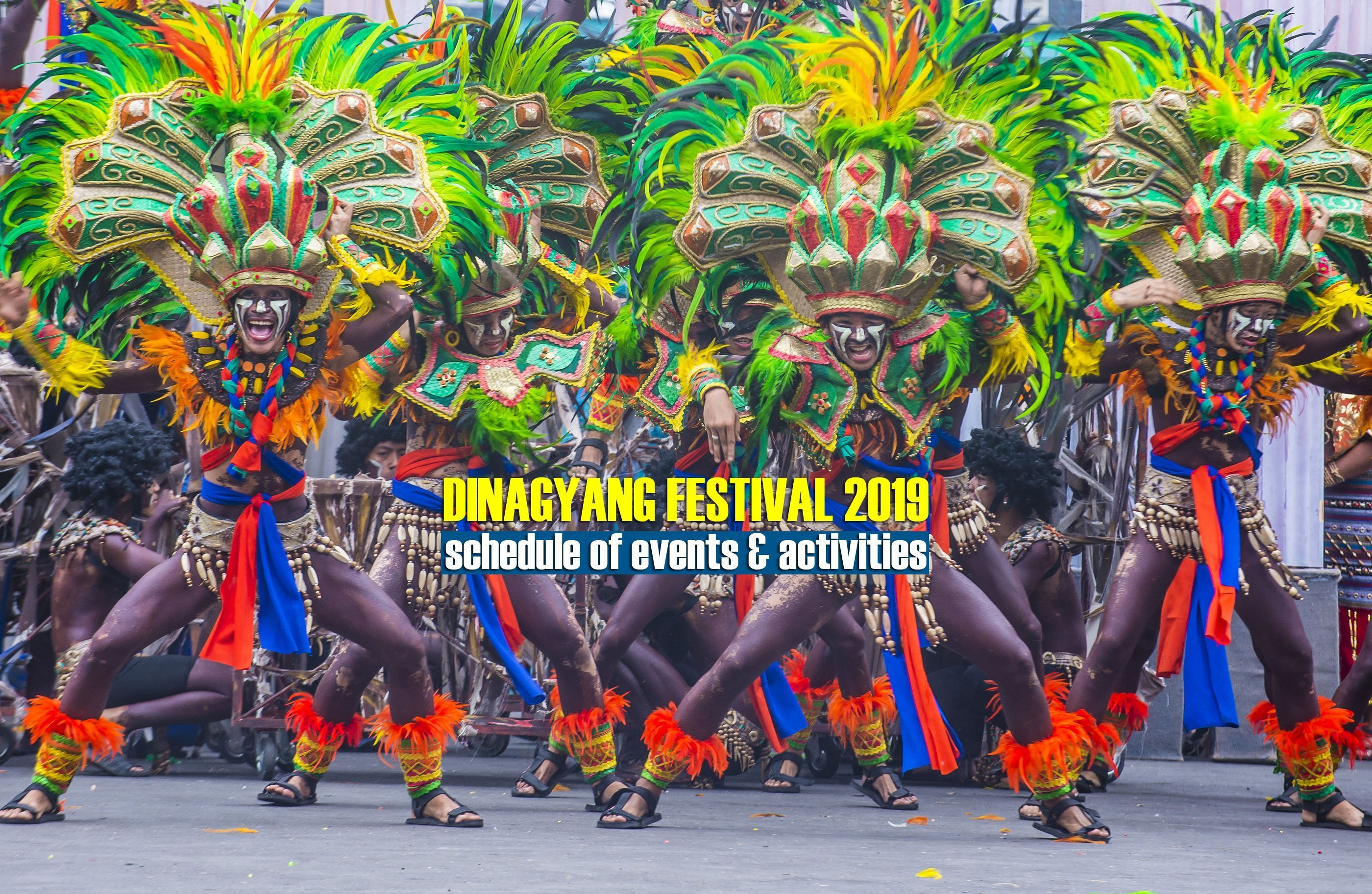 Dinagyang Festival 2019: Schedule of Events and Activities