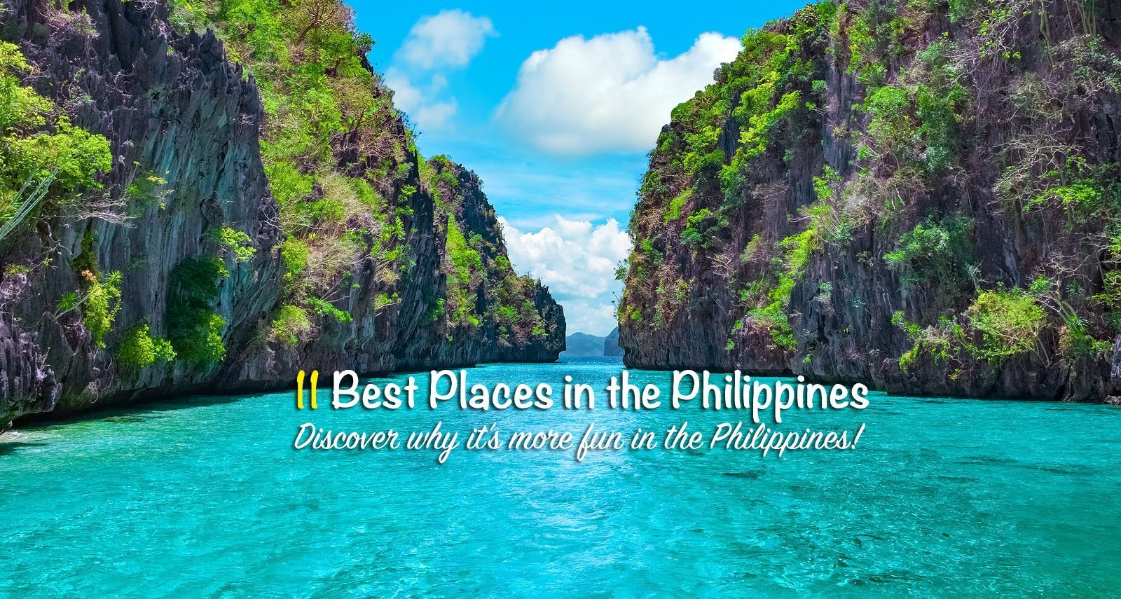11 Best Places to Visit in the Philippines [And How To Get There]