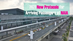 2021 New Protocols for Arriving Passengers at NAIA