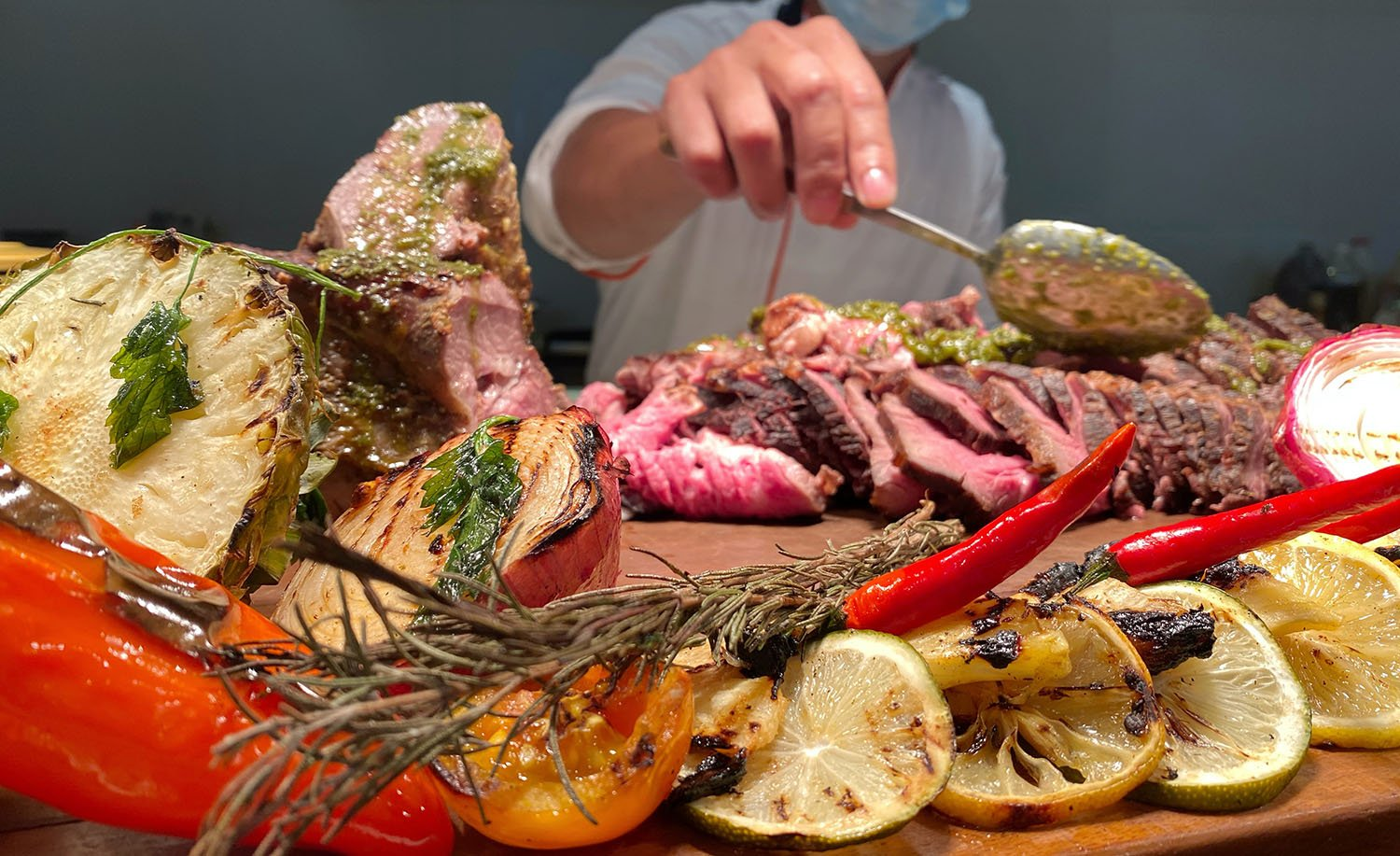 Roast and Salad Buffet at dusitD2's Madayaw Cafe for only P888!