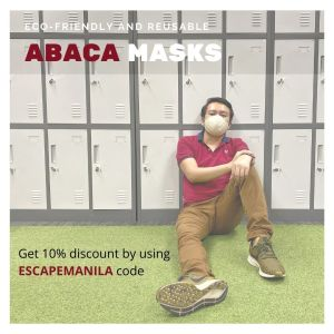 eco-friendly abaca mask