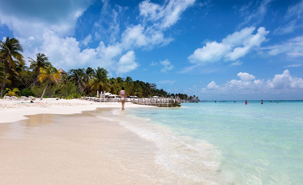 Isla Mujeres is  one of the top tourist destinations in Mexico