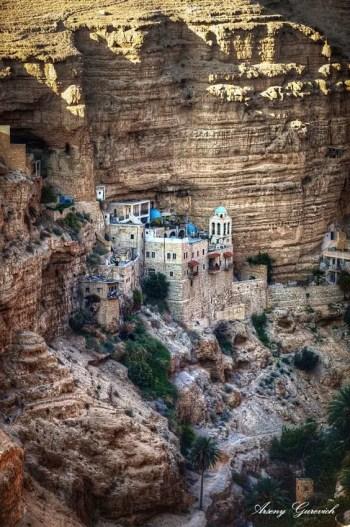St. Georges Monastery, Wadi Qelt, Israel