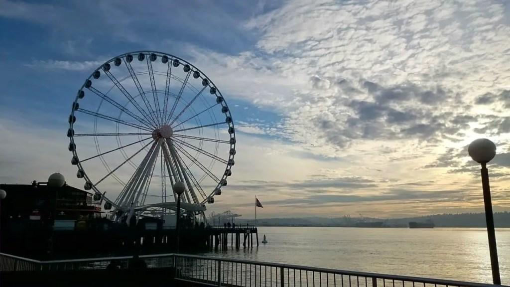 seattle great wheel harbour