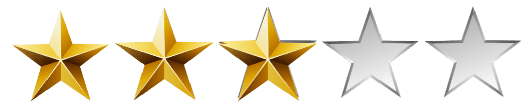 Image result for 3 stars