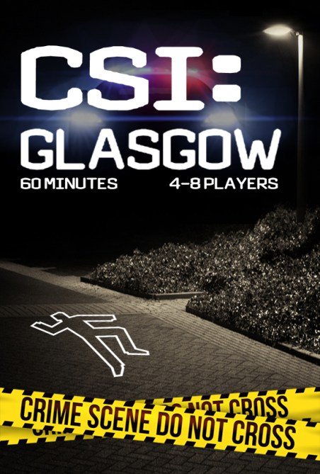 CSI GLASGOW escape room, escape csi glasgow