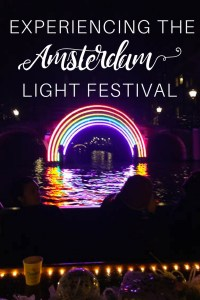 Every year Amsterdam holds its stunning Light Festival and it is NOT to be missed. What's better is you can experience it by canal! Find out more here.