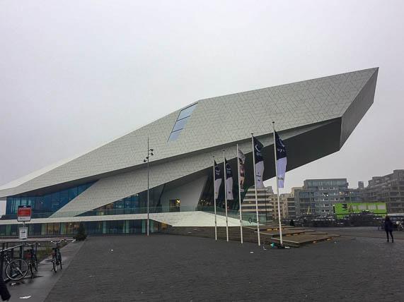 The Eye Film Institute at Amsterdam- Noord