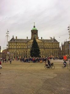 The Royal Palace at Dam Square
