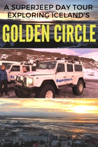 A day trip round Iceland's Golden Circle is an absolute must. Find out what to expect and what I loved about the Superjeep tours.