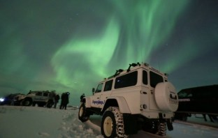 Hunting for the Northern Lights in Iceland