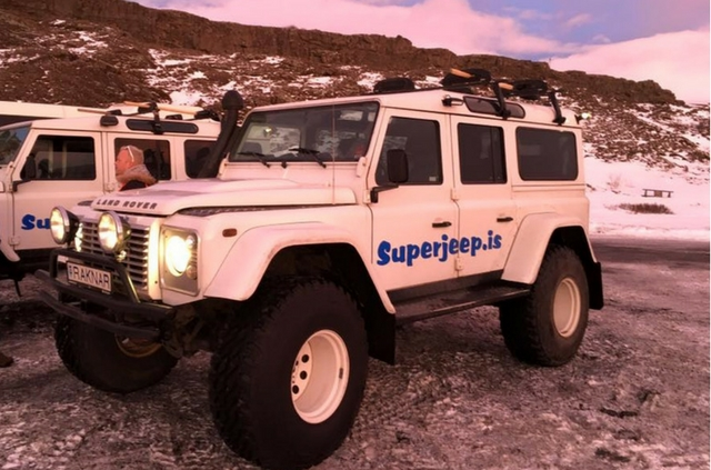 Golden Circle Tour with Superjeep