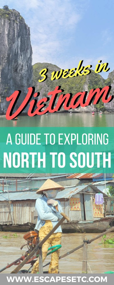 Thinking of going to Vietnam? You're going to love it! This vibrant country is full of food, culture and stunning sights to experience. Here is my ultimate 3 week Vietnam itinerary to get you inspired.#vietnam #3weeksinvietnam #explorevietnam #southeastasia #backpacking