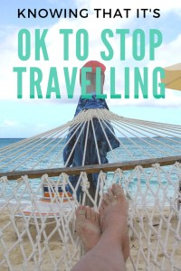Travelling is a huge adventure and can feel like a complete whirlwind. Learning when to slow down is so important and one lesson that I learnt the hard way. Find out more here!