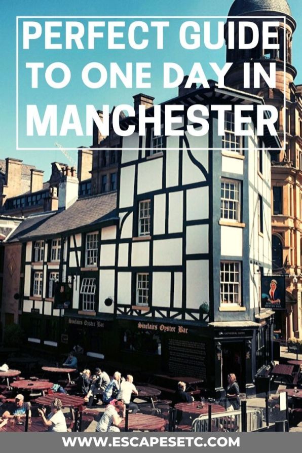 Planning on taking a quick trip to Manchester? Here's how to spend one day in Manchester on a budget including how to get there, what to do and budget places to eat in Manchester. #manchester #manchesteruk #thingstodoinmanchester #visitengland #northengland