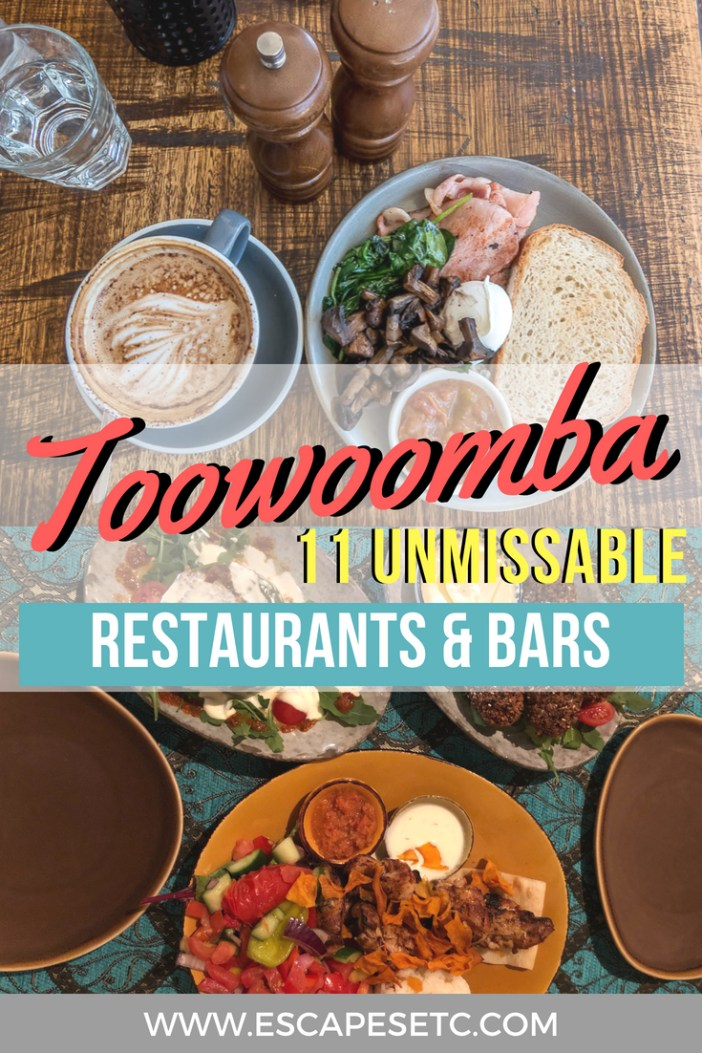 Are you a food lover looking for a weekend escape? Toowoomba is a fantastic up and coming foodie haven that is waiting to be explored. Here are 11 of the best places to eat and drink at in Toowoomba to inspire your next trip. #toowoomba #queensland #darlingdowns #foodiedestinations #weekendaway