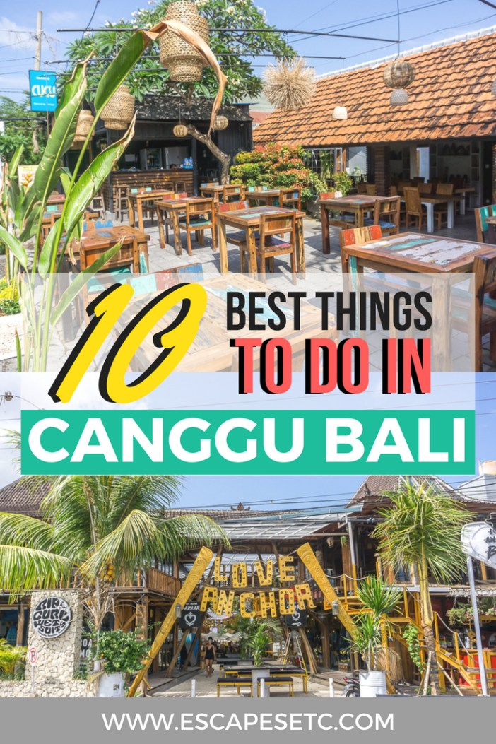 Planning a trip to Canggu Bali? Here's my guide to visiting and the best things to do in Canggu! #canggu #bali #baliguide