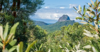 An afternoon taking in the Glass House Mountains